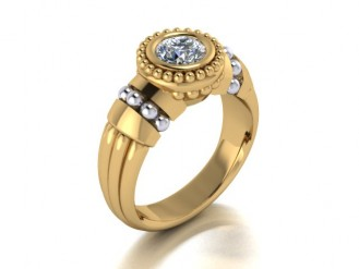 Beaushene Bezel Ring Per